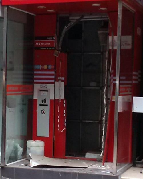 """""""Phòng vệ"""" cho các ATM khỏi tội phạm"""