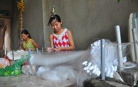 Làng sản xuất ngư cụ kiếm bạc tỷ giữa Hà Nội