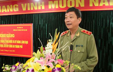 Bộ công an thông tin vụ Trung tướng Công an tử nạn