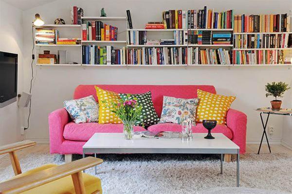 Sử dụng loại ghế sofa nhỏ gọn.