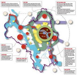 Hà Nội ưu tiên  các nhà đầu tư vào dự án đô thị ngoại thành