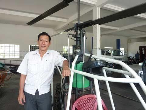 Những người Việt quyết tâm chế tạo máy bay, vệ tinh