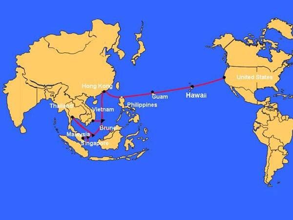 Đứt cáp quang biển AAG, Internet Việt Nam đi quốc tế lại chậm