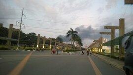 Bình Dương: Cháy cực lớn trong KCN Việt Nam - Singapore