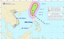 Bão Fung - Wong ít có khả năng ảnh hưởng đến nước ta