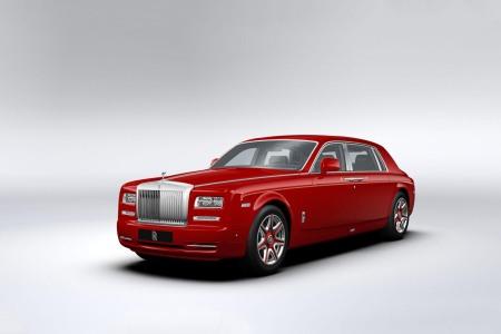 Một trong những chiếc Rolls-Royce Phantom mà ông Hung đặt hàng.