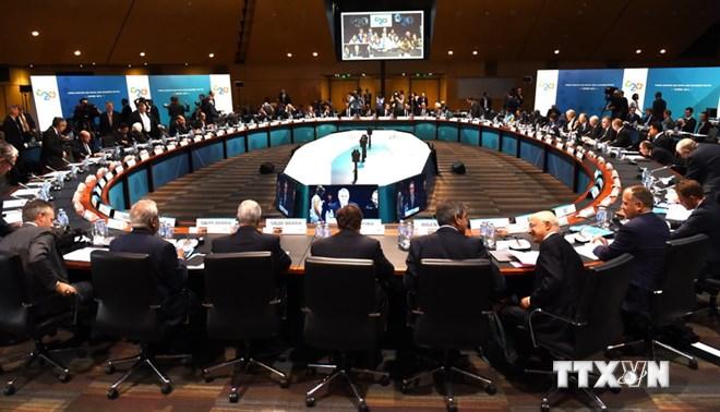 Nhóm G-20 thảo luận mục tiêu tăng trưởng và tạo việc làm