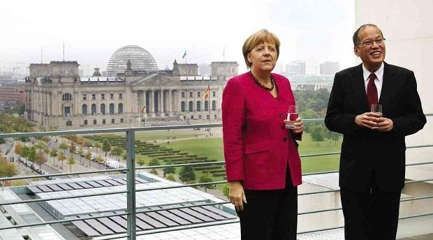 Thủ tướng Đức Merkel ủng hộ Philippines trong vụ kiện Trung Quốc