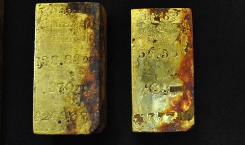 Đang khai quật xác tàu chìm chứa 13,6 tấn vàng