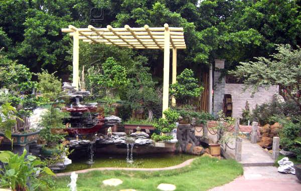 Nhà vườn và cách bố trí sân vườn