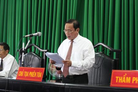 Y án sơ thẩm vụ án tham nhũng tại Đắk Nông
