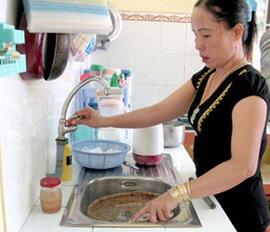 Hà Nội tăng giá nước sạch
