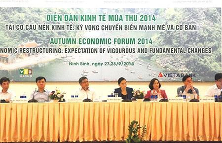 TS Nguyễn Đình Cung: Điều nguy hiểm hơn trong tái cấu trúc