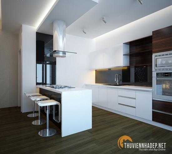 Xu hướng thiết kế tủ bếp năm 2014