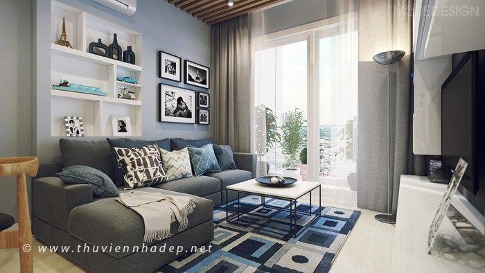 Giải pháp thiết kế nội thất cho căn hộ nhỏ