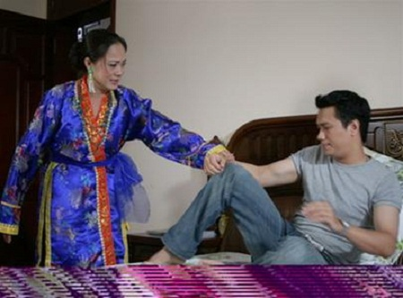 Hương Dung và Việt Anh trong Chạy án