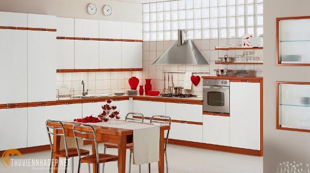 Thiết kế tủ bếp hiện đại đẹp