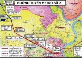 Tuyến Metro TP.HCM đội vốn gấp rưỡi: Bộ trưởng Thăng thêm đúng?