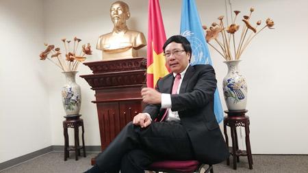 PTT Phạm Bình Minh: Việt Nam đẩy mạnh vai trò quốc tế thông qua ASEAN
