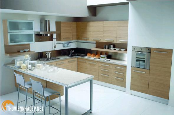 Năm 2014 - Những mẫu tủ bếp với thiết kế hiện đại sẽ tiếp tục thống trị