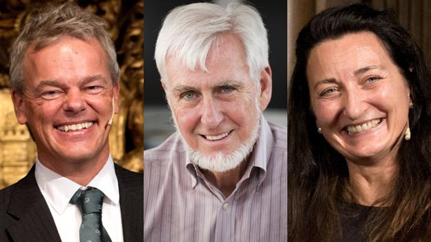 3 nhà khoa học chia nhau giải Nobel Y học