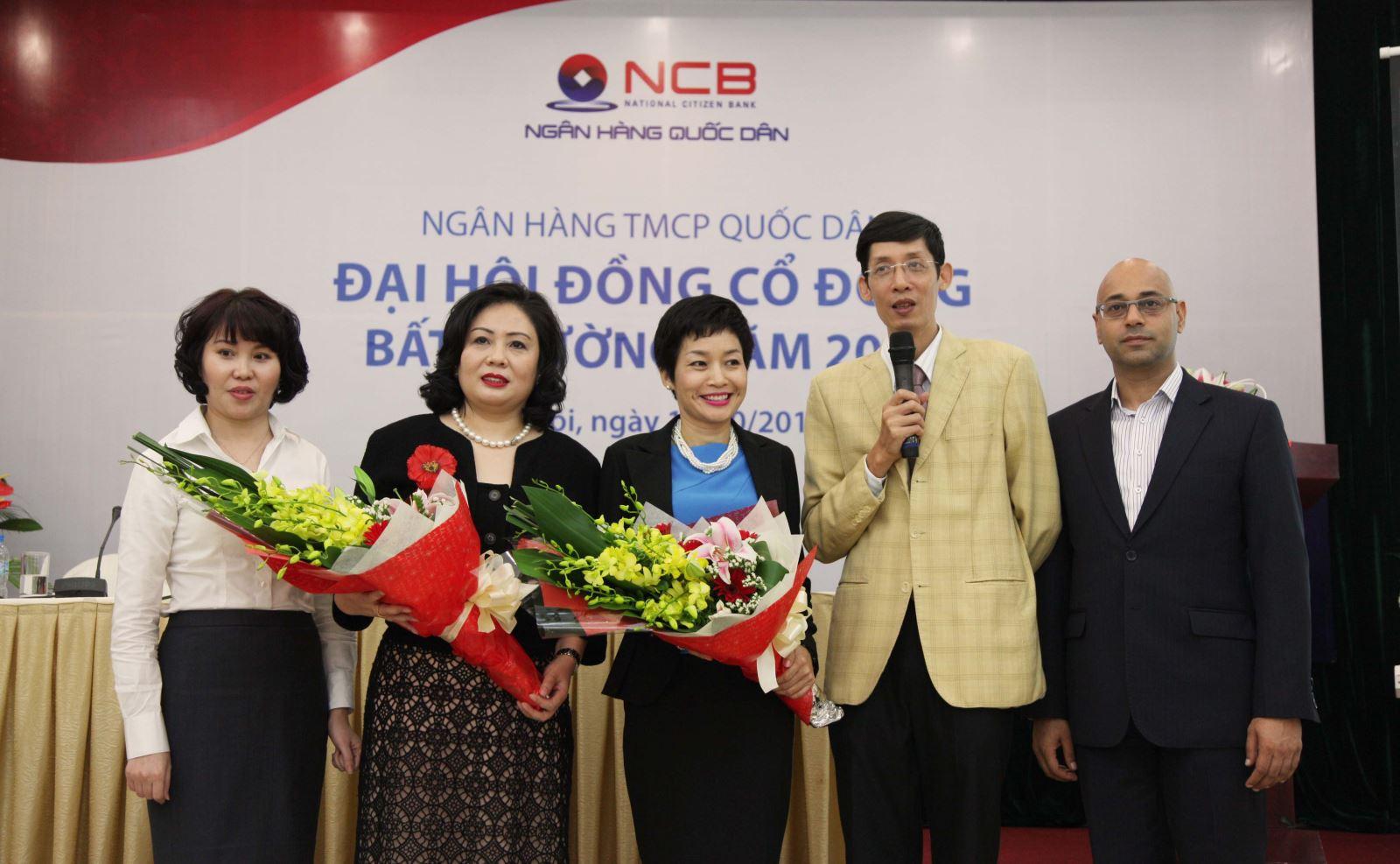 Ngân hàng Quốc dân họp cổ đông bất thường, bầu thành viên hội đồng quản trị