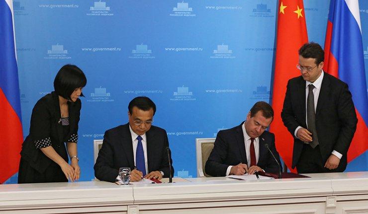 Nga – Trung đặt bút ký thỏa thuận lịch sử