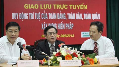 Nguyên Lâm, tham vấn chính sách, góp ý của dân, ban hành chính sách luật