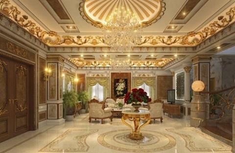 Hé lộ nội thất xa hoa trong lâu đài gà vàng phát lộ sai phạm