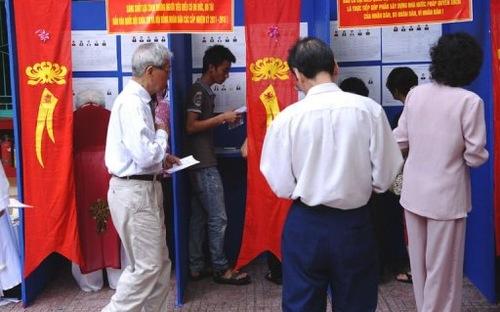 Chính phủ: Nên cho phép tự vận động bầu cử tại Việt Nam
