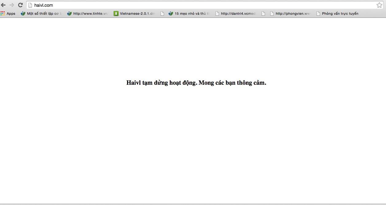 """""""Cha đẻ"""" mạng xã hội Haivl.com nói gì sau khi bị tước giấy phép vĩnh viễn?"""
