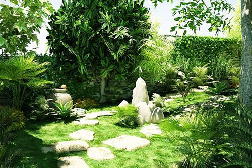 Những cách chọn, trồng cây xanh mang lại tài vận và may mắn