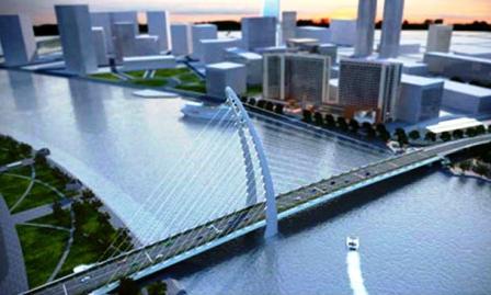 TPHCM sẽ xây cầu Thủ Thiêm 2 vào đầu năm 2015?