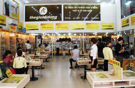 Thế giới di động mở thêm 30 siêu thị mới trong 1 tháng