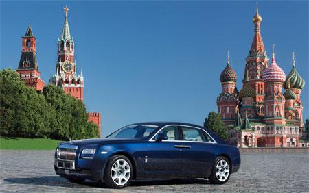 Lo đồng Rúp mất giá, giới giàu Nga đổ tiền sắm Rolls-Royce