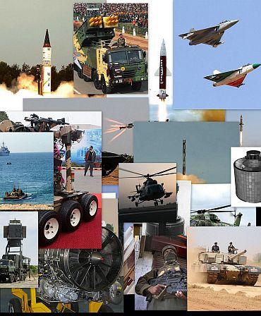 Các sản phẩm nước ngoài chiếm phần lớn kho thiết bị quốc phòng của Ấn Độ
