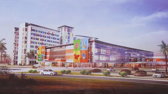 Hơn 4.500 tỷ đồng xây mới Bệnh viện Nhi Đồng TP Hồ Chí Minh