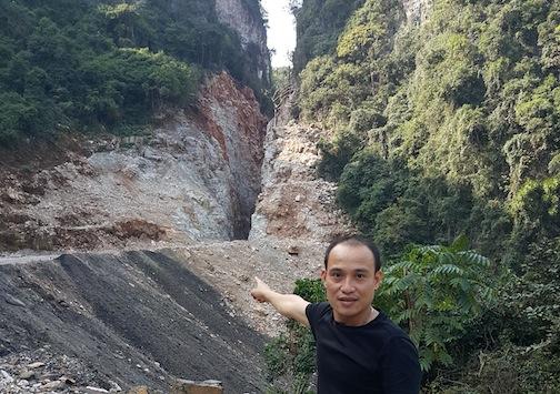 Thêm một công trình không phép trong vùng đệm Di sản Vịnh Hạ Long