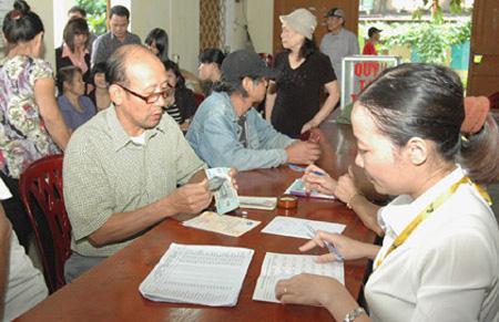 Người có lương hưu 10 triệu đồng được tăng thêm 800.000 đồng