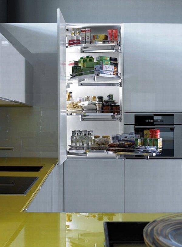 Mẫu Nhà Bếp Đẹp Với Màu Vàng
