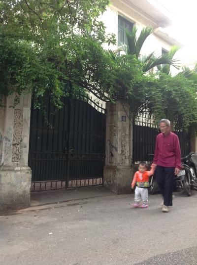 Biệt thự 12 Nguyễn Chế Nghĩa, TP Hà Nội Ảnh: Thế Kha