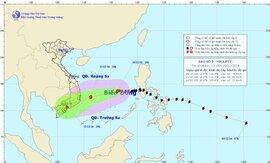 Bão sẽ đi vào đất liền các tỉnh Khánh Hòa - Bình Thuận