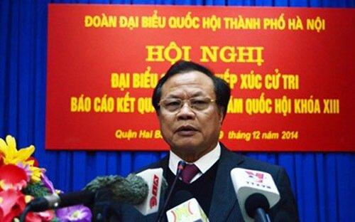 Bí thư nói về vụ cựu Chủ tịch Hà Nội trả biệt thự công