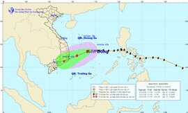 Miền Bắc rét tăng cường, bão áp sát biển Khánh Hòa - Ninh Thuận