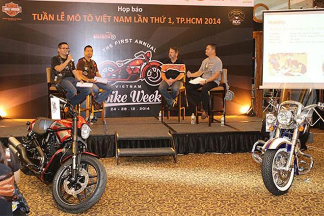 Việt Nam có Tuần lễ mô tô cho người mê xe phân khối lớn