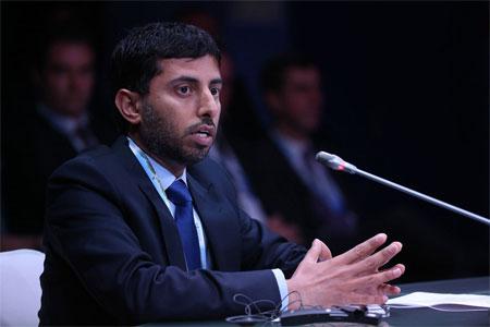 Bộ trưởng Bộ Năng lượng Các tiểu vương quốc Arab thống nhất (UAE) Suhail Al-Mazrouei - Ảnh: