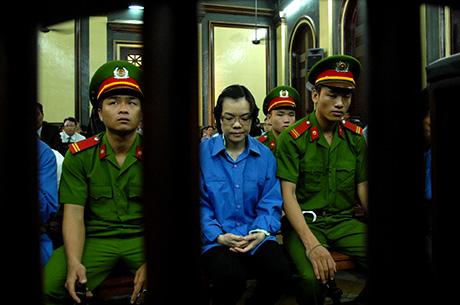 Huyền Như tại phiên tòa phúc thẩm ngày 16/12