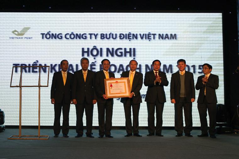 Bưu Điện Việt Nam tăng gần 20% lợi nhuận trong năm 2014