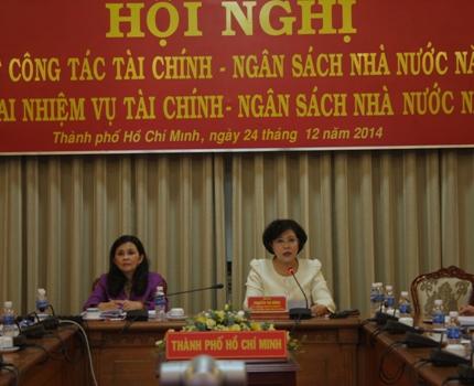 Thành phố Hồ Chí Minh tăng trưởng 9,58% trong năm 2014