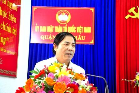 Ông Nguyễn Bá Thanh vẫn thường xuyên trao đổi với công việc với cấp dưới qua điện thoại